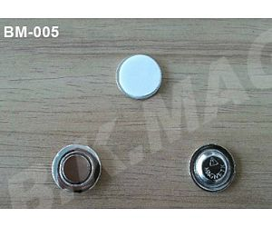 Metal Round Button Magnets